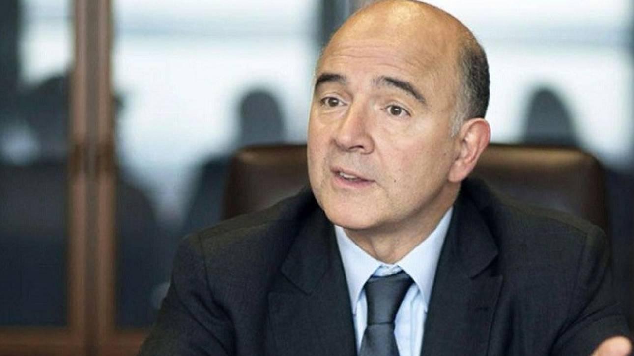 Μοσκοβισί: Από την ευρωζώνη οι τελικές αποφάσεις για το χρέος