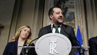 Σαλβίνι: Υπάρχει συμφωνία για κυβέρνηση και πρωθυπουργό