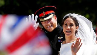 Βασιλικός γάμος: Έρωτας, burgers και... παντόφλες στο πάρτι Χάρι - Μέγκαν