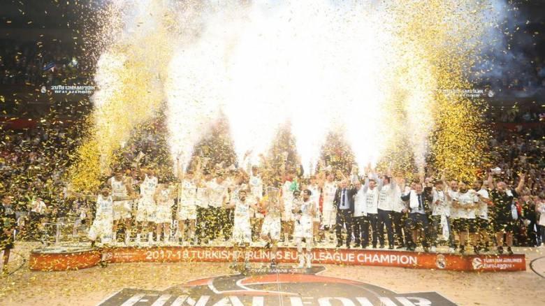 Euroleague: Πρωταθλήτρια Ευρώπης η Ρεάλ Μαδρίτης