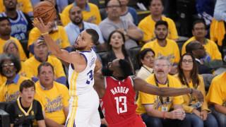NBA: «Πάρτι» των Γουόριορς για το 2-1 επί των Ρόκετς