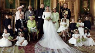 Οι πρώτες επίσημες φωτογραφίες του βασιλικού γάμου της χρονιάς