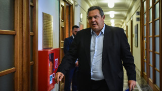Καμμένος για Σκοπιανό: Δεν θα ψηφίσω ποτέ λύση με το όνομα «Μακεδονία»