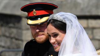 Η πρώτη επίσημη δημόσια εμφάνιση Μαρκλ - Χάρι μετά τον γάμο