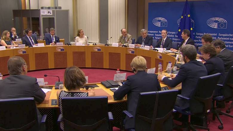 «Mea culpa» από τον Ζάκερμπεργκ στο Ευρωκοινοβούλιο