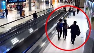 Έπεσε θύμα απαγωγής στο αεροδρόμιο χωρίς... να το καταλάβει κανείς