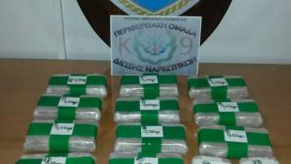 Ηγουμενίτσα: Σύλληψη δύο ατόμων που μετέφεραν 6,5 κιλά ηρωίνης