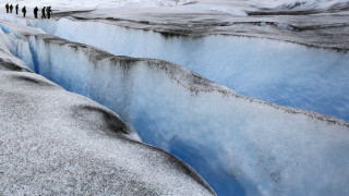 Τρία γιγάντια φαράγγια «θαμμένα» κάτω από τους πάγους της Ανταρκτικής
