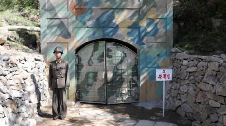 Η μέρα που η Βόρεια Κορέα έκανε... σκόνη το πεδίο πυρηνικών δοκιμών