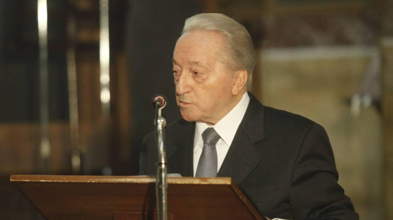Παραιτήθηκε ο Πυλαρινός από Πρόεδρος της Ένωσης τ. Βουλευτών-Ευρωβουλευτών