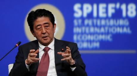 Άμπε: Να συνεχιστούν οι πιέσεις για τερματισμό του πυρηνικού προγράμματος της Β. Κορέας