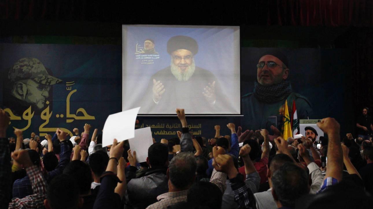 Η Χεζμπολάχ καλεί τους υποστηρικτές της να μείνουν ανυποχώρητοι στις κυρώσεις των ΗΠΑ