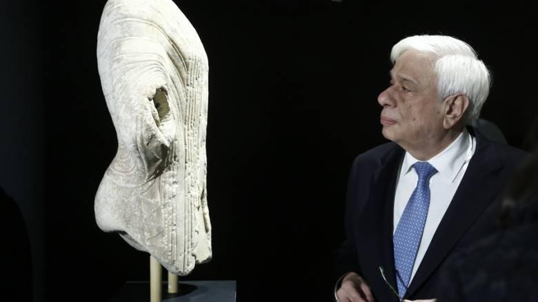 Τη νέα περιοδική έκθεση του Εθνικού Αρχαιολογικού Μουσείου εγκαινίασε ο ΠτΔ