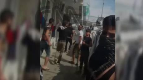 Βίντεο ντοκουμέντο από τη Μόρια: Άγρια επεισόδια, συλλήψεις και η καταλυτική επέμβαση της ΕΛΑΣ