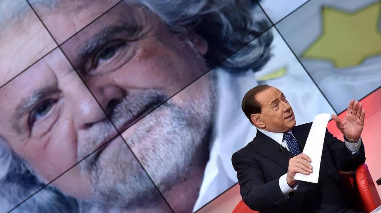 Ιταλία: Γκρίλο - Μπερλουσκόνι αντίθετοι στην κυβέρνηση τεχνοκρατών