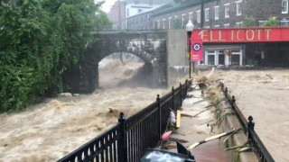 Καταστροφικές πλημμύρες στο Μέριλαντ - Ένας αγνοούμενος