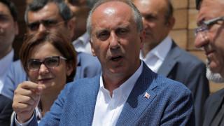 Στη Θράκη για προεκλογική ομιλία ο αντίπαλος του Ερντογάν στις εκλογές