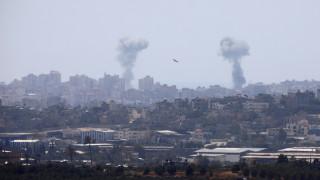 Γάζα: Ομοβροντία πυρών με στόχο το Ισράηλ
