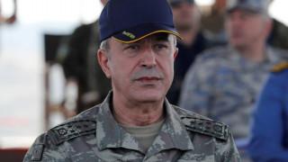 Αρχηγός τουρκικού στρατού: Θα προστατεύσουμε τα συμφέροντά μας σε Αιγαίο, Μεσόγειο και Κύπρο
