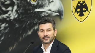 Ουζουνίδης: «Στόχος να μείνει η ΑΕΚ στην κορυφή»