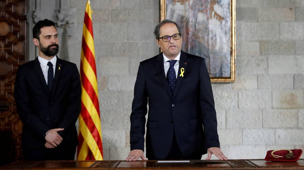 «Πράσινο φως» από τη Μαδρίτη στη νέα καταλανική κυβέρνηση
