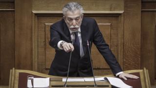 Υπεύθυνη στάση από τα δημοκρατικά κόμματα στο Σκοπιανό ζήτησε ο Κοντονής
