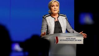 «Εθνικός Συναγερμός» το νέο όνομα του κόμματος της Λεπέν