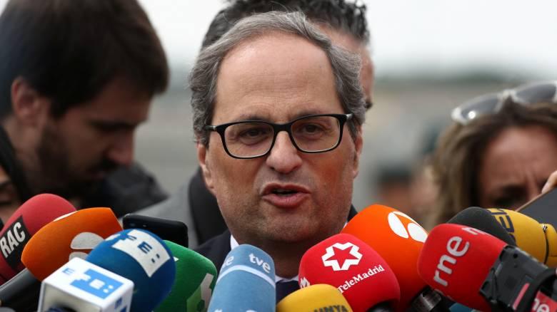 Συνομιλίες με τον Σάντσεθ επιθυμεί ο επικεφαλής της νέας καταλανικής κυβέρνησης