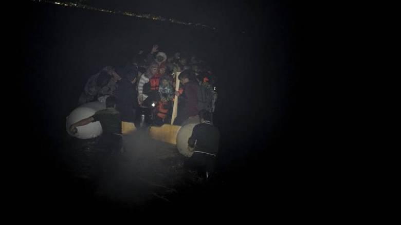 Βίντεο από την επιχείρηση διάσωσης προσφύγων ανοικτά της Αττάλειας