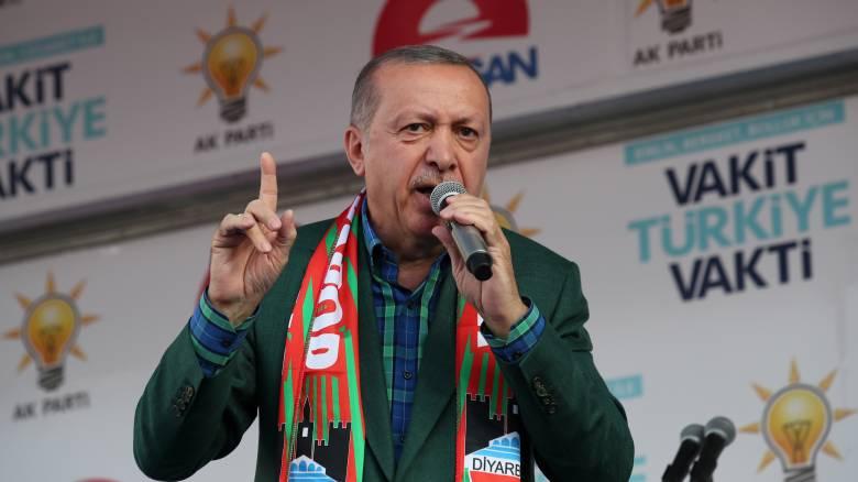 Ο Ερντογάν ζητά την ψήφο των Κούρδων στις εκλογές της 24ης Ιουνίου