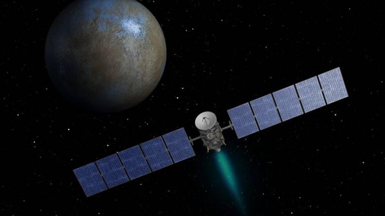 Το Dawn της NASA στην πιο κοντινή απόσταση από τον πλανήτη Δήμητρα