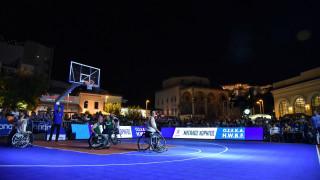 "Tο ""1st Midnight 3on3 Streetball"" από ΟΣΕΚΑ και ΟΠΑΠ στο Μοναστηράκι"