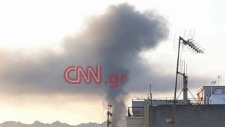 Αττική: Μεγάλη πυρκαγιά σε βιοτεχνία στο Περιστέρι