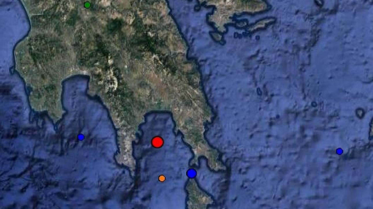 Σεισμός στη Λακωνία