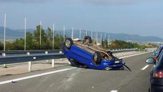 Ένας νεκρός σε τροχαίο δυστύχημα στην Αθηνών - Λαμίας