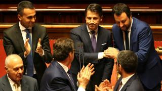 Η κυβέρνηση Κόντε έλαβε ψήφο εμπιστοσύνης από την ιταλική γερουσία
