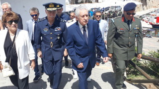 Κουβέλης: Δεν επιτρέπουμε σε κανέναν να αμφισβητεί τα κυριαρχικά μας δικαιώματα