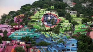 Cerro de la Campana, η «πολύχρωμη γειτονιά» στο Μεξικό