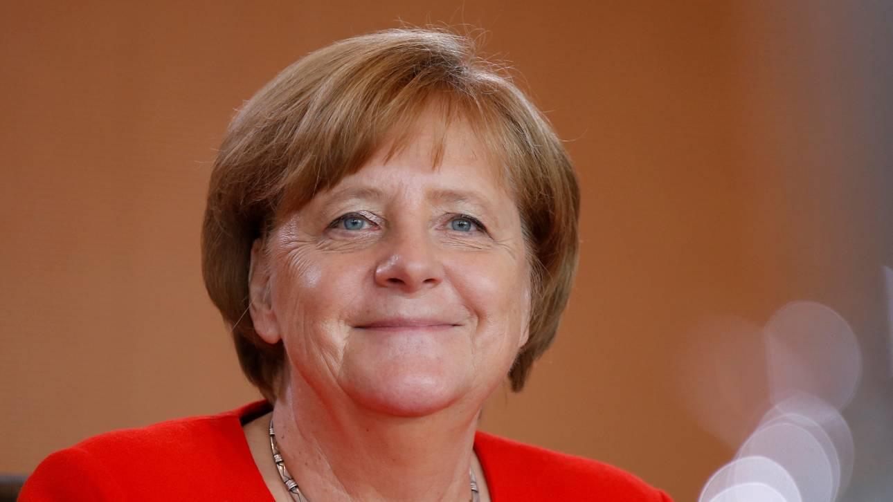 Μέρκελ: Θα βρεθεί καλή λύση στο θέμα της ελάφρυνσης του ελληνικού χρέους