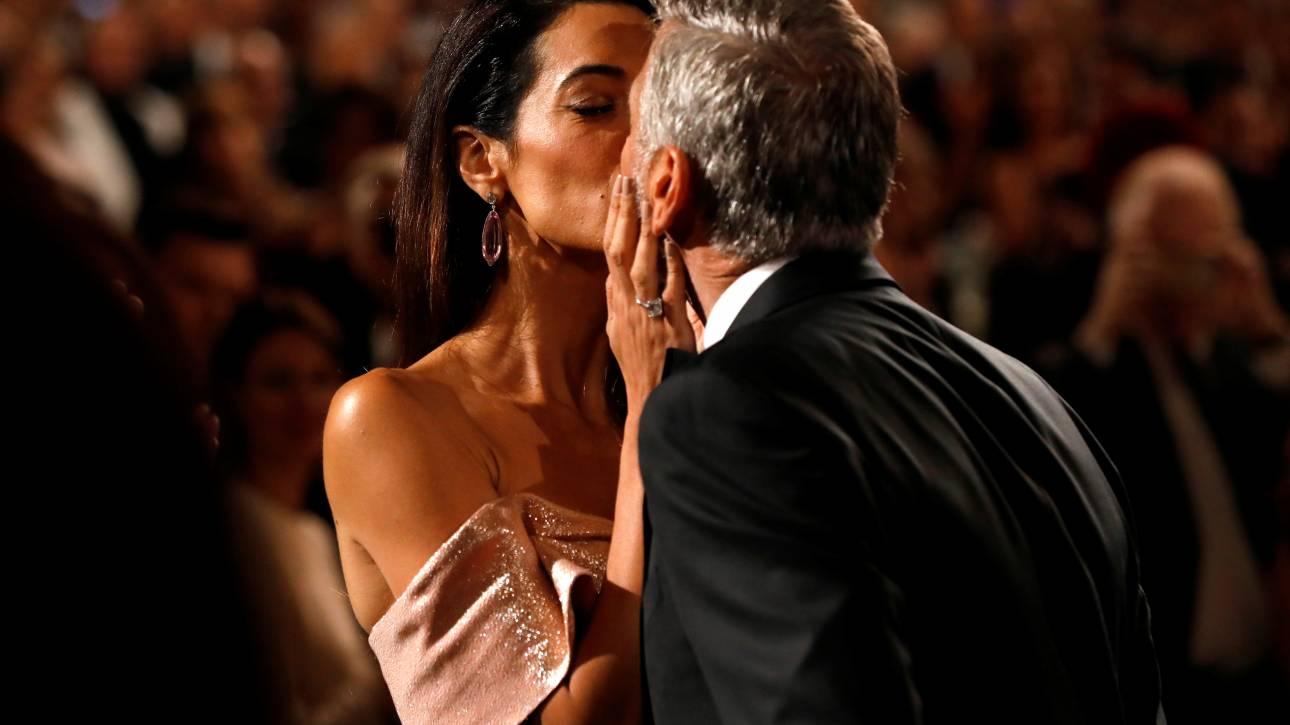 Είναι ο έρωτας της ζωής μου: η δημόσια ερωτική εξομολόγηση της Αμάλ για τον Τζορτζ Κλούνεϊ