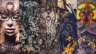 Η σκοτεινή τέχνη του ελληνικού Metal Illustration Art - An Exhibition στο φως