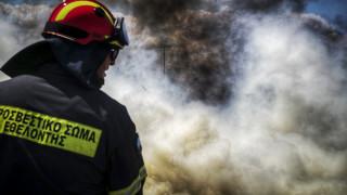 Καλύτερη η εικόνα της πυρκαγιάς στην Πύλο Μεσσηνίας