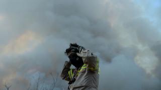 Οριοθετημένη η φωτιά στην Πύλο Μεσσηνίας