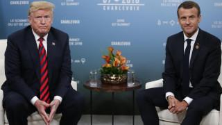 Καναδάς - G7: Μακρόν και Τραμπ χαιρετίζουν την πρόοδο στις διαπραγματεύσεις τους
