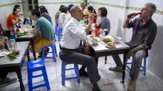 Το συγκινητικό «αντίο» του Ομπάμα στον Μπουρντέν
