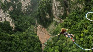 Ιλιγγιώδης πρόκληση: Bungee jumping από τα 280 μέτρα!