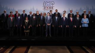 Σύνοδος G7: Κοινή δήλωση για εμπόριο μετά τους διαξιφισμούς με τις ΗΠΑ