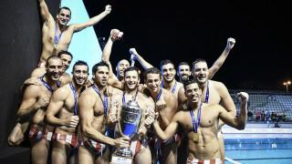 Συγχαρητήρια του πολιτικού κόσμου στην ομάδα πόλο του Ολυμπιακού