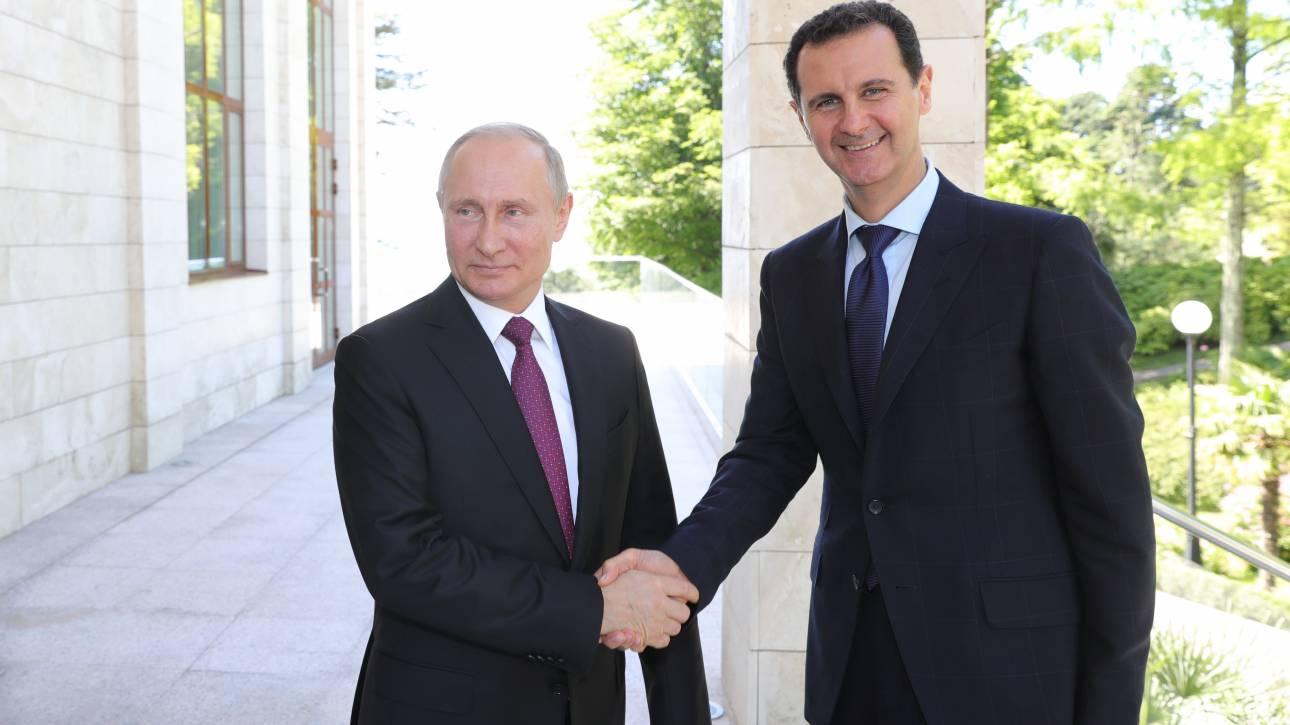 Άσαντ: Δεν αποφασίζει η Ρωσία για μας