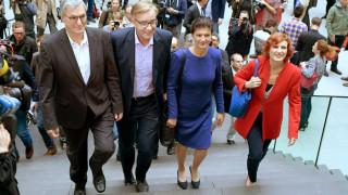Γερμανία: Επανεξελέγησαν επικεφαλής της Αριστεράς οι Κάτια Κίπινγκ και Μπερντ Ρίξινγκερ